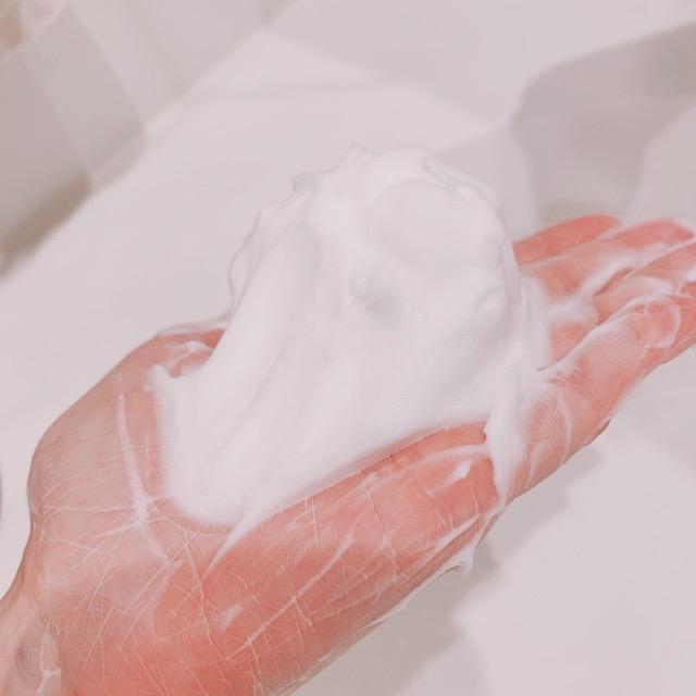 オルビス洗顔料の泡